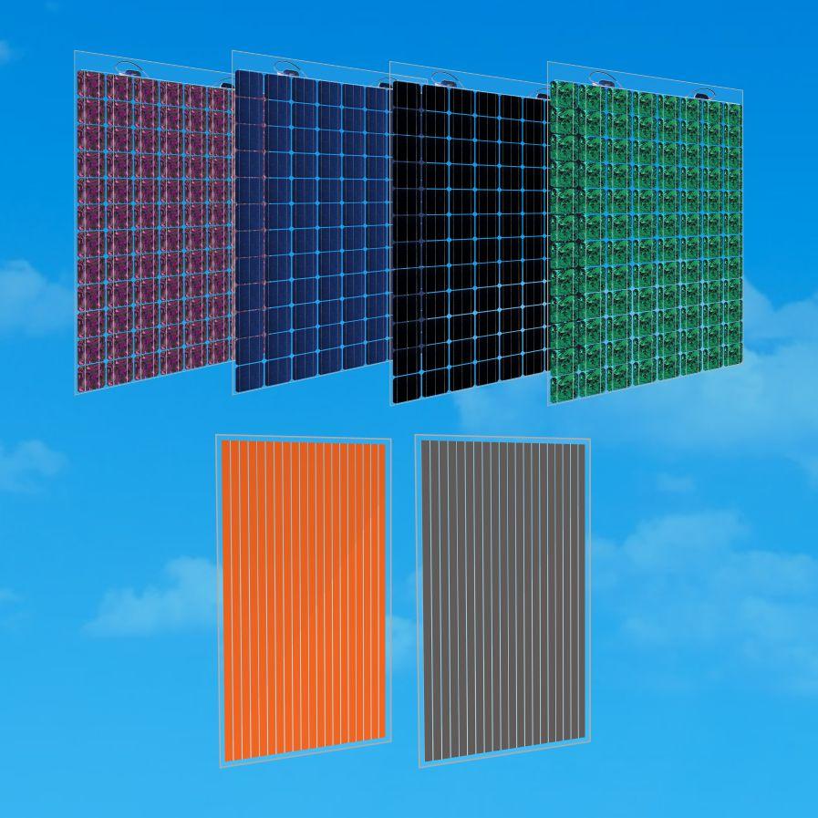 solar panels bipv