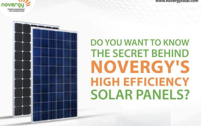 Solar Panel Manufacturer | Solar Energy Company | Novergy Solar