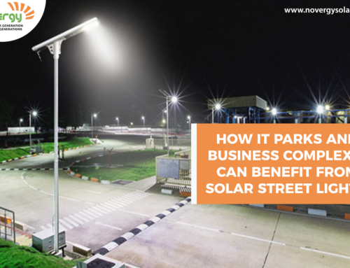 How IT parks and business complexes can benefit from solar street lights?