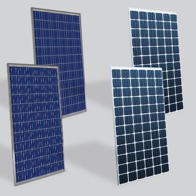 solar panels crystalline silicon
