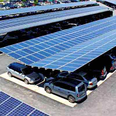 Novergy Solar Parking & Custom Designed Solutions