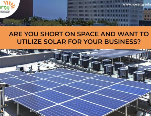 Are you short on space and want to utilize solar for your business?
