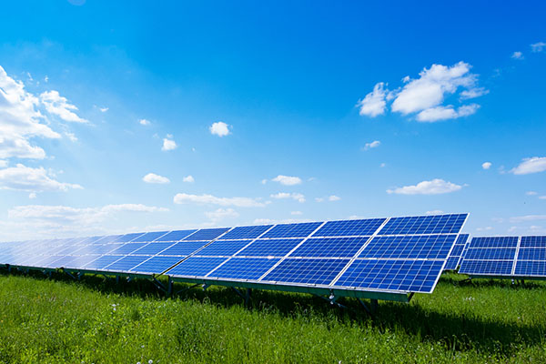 Solar energy can help tackle climate change