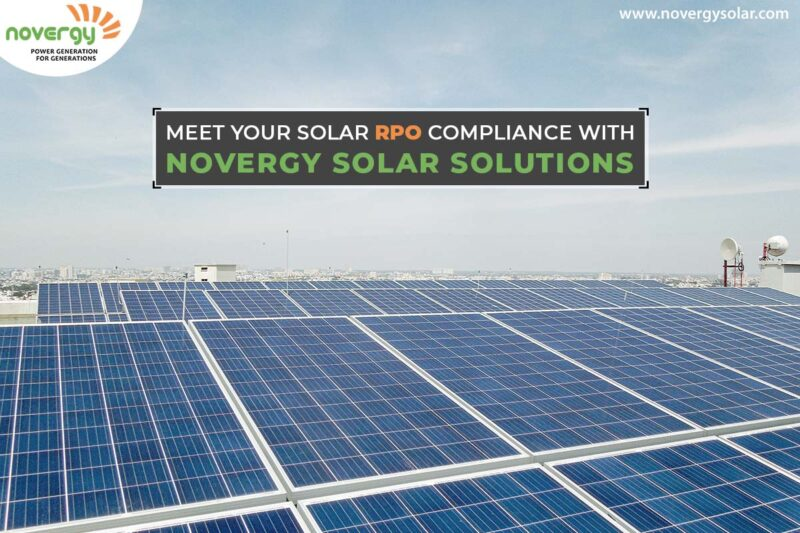 Meet your solar RPO compliance with Novergy Solar solutions