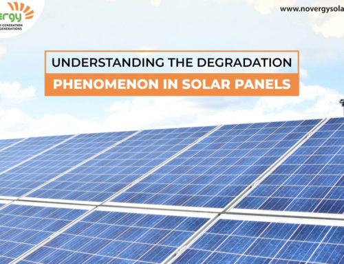 Understanding the degradation phenomenon in solar panels