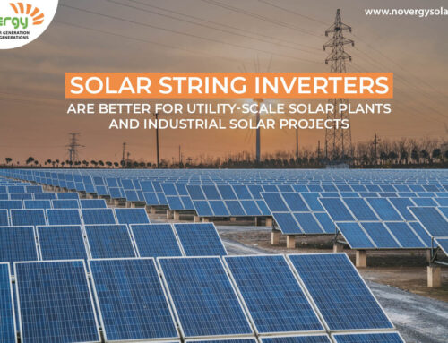 Solar String inverters are better for utility-scale solar plants and industrial solar projects