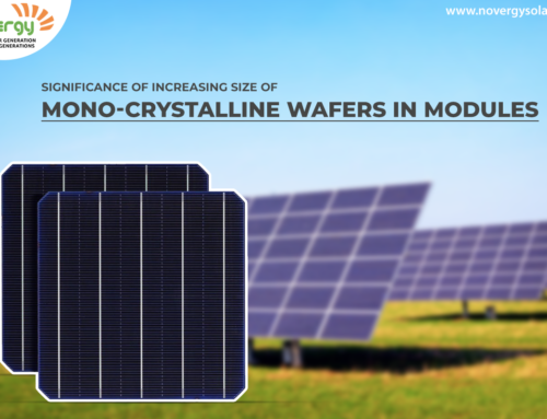Significance of increasing size of mono-crystalline wafers in modules