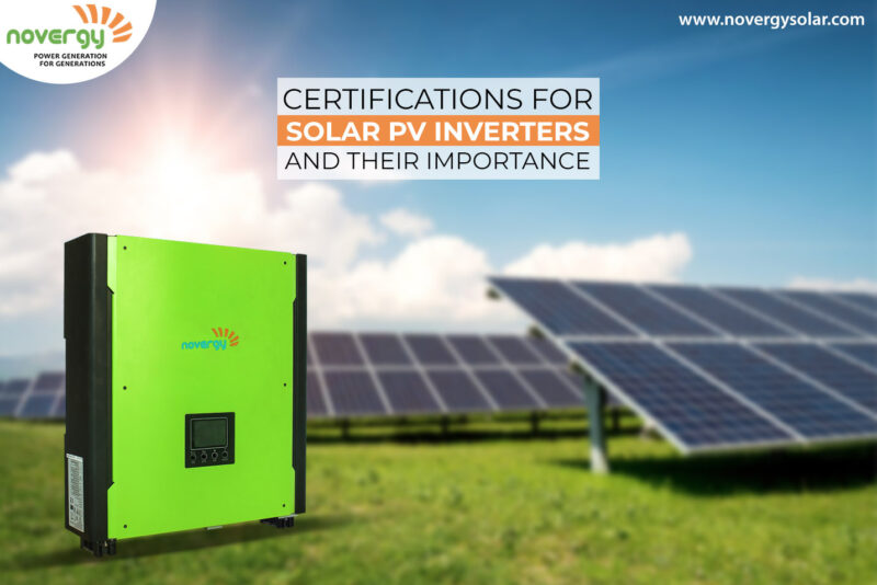 Certifications for solar PV inverters and their importance