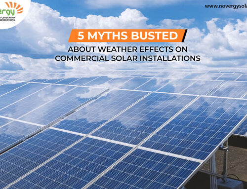 5 myths busted about weather effects on commercial solar installations