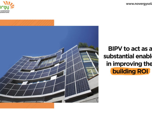 BIPV to act as a substantial enabler in improving the building ROI