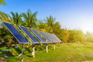 Agro-photovoltaics solar panels