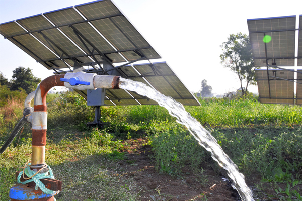 Boosts water security with solar water pumps